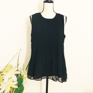 NWT Time and Tru Sleeveless Blouse Size 12-14